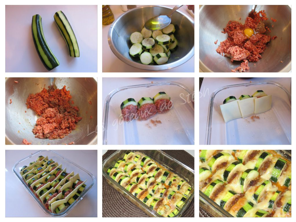 #courgette#boeuf#gratin#fromage