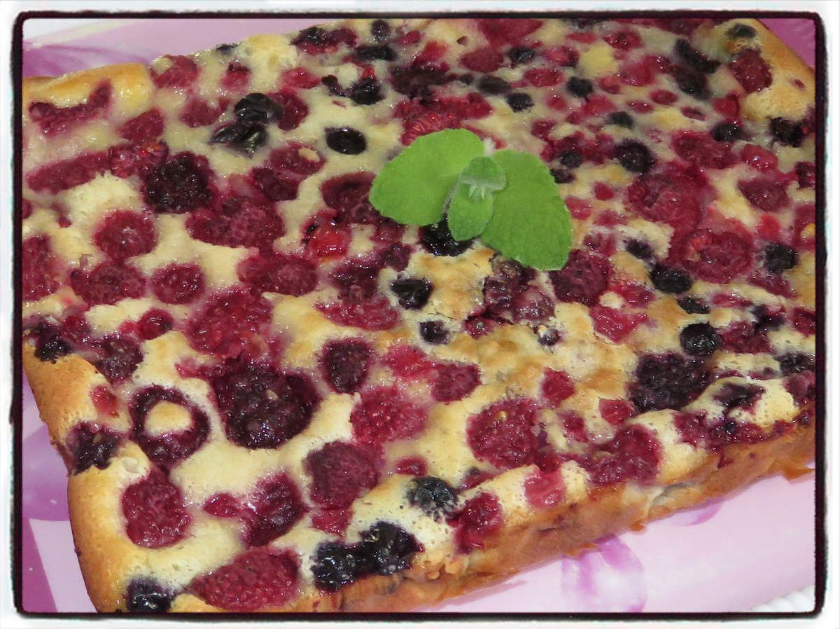 #clafoutis#fruits#rouges