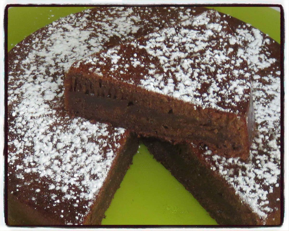 #chocolat#lait#gâteau#fondant#moelleux