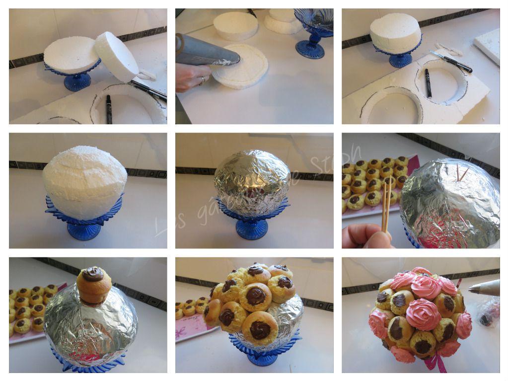 #cupcakes#nutella#bouquet#gâteau