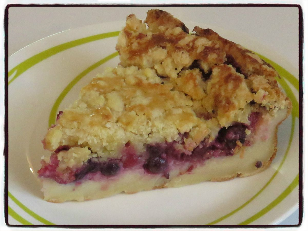 Fra crumble fruits rouges