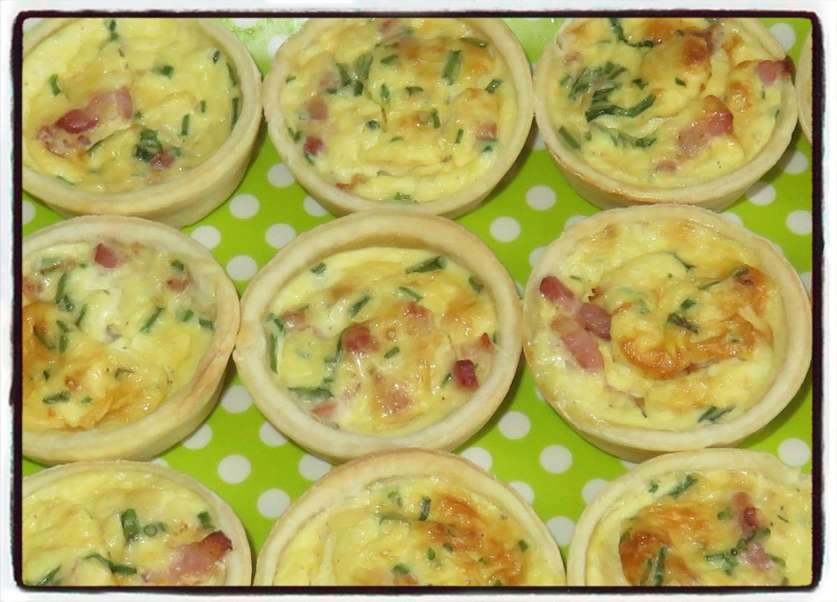 Quiches lardons