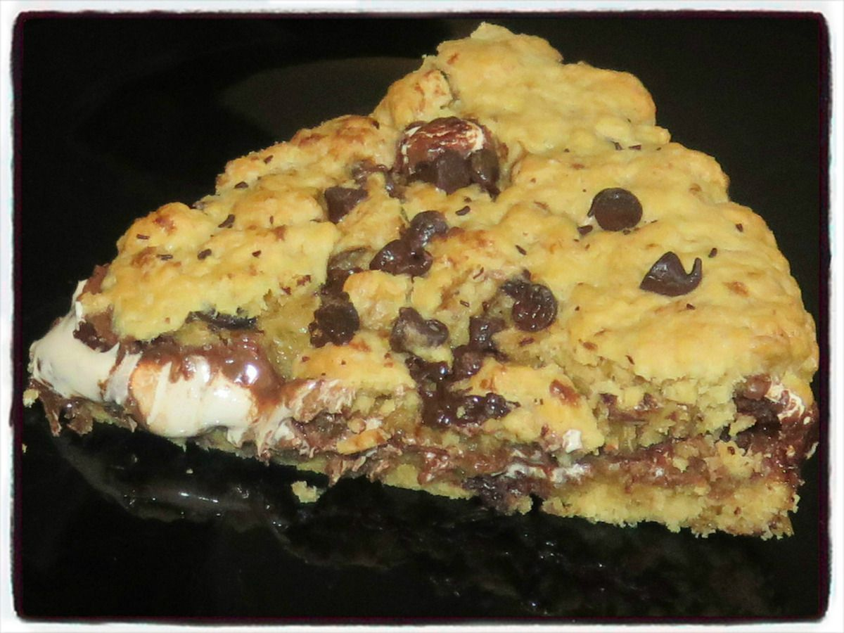 Maxi cookies nutella chamallow