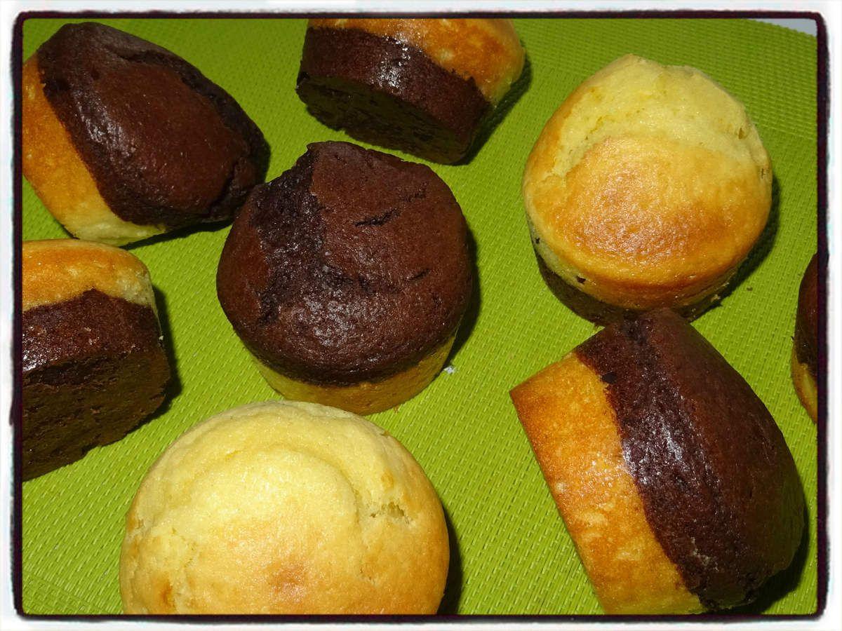 Muffins vanille chocolat