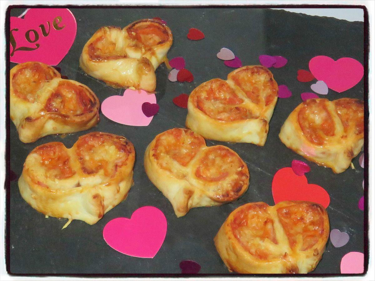Cœurs de pizza