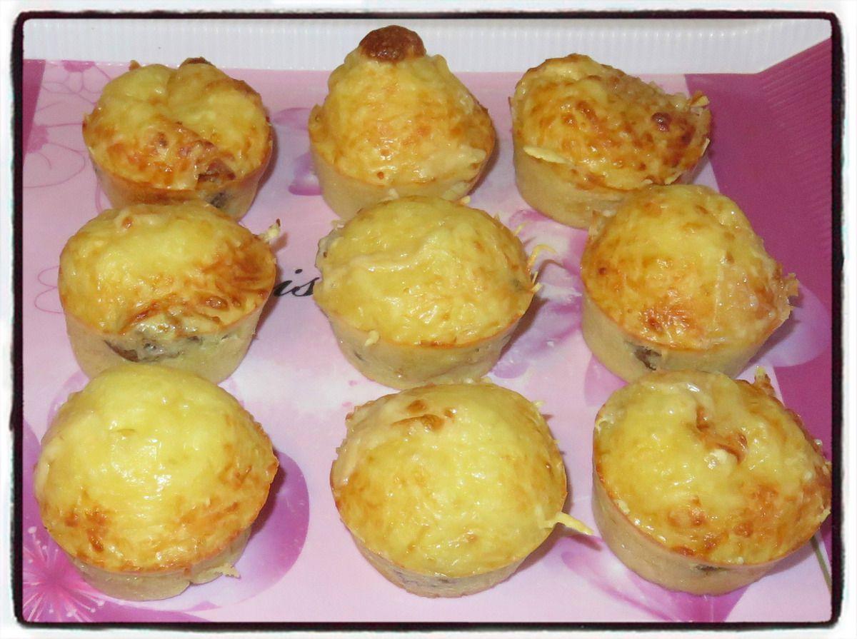 Muffins façon burger