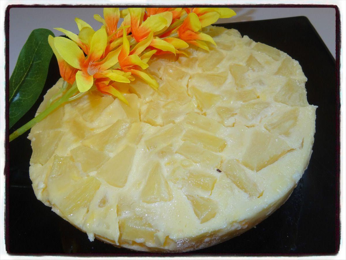 Clafoutis à l'ananas (cookéo)