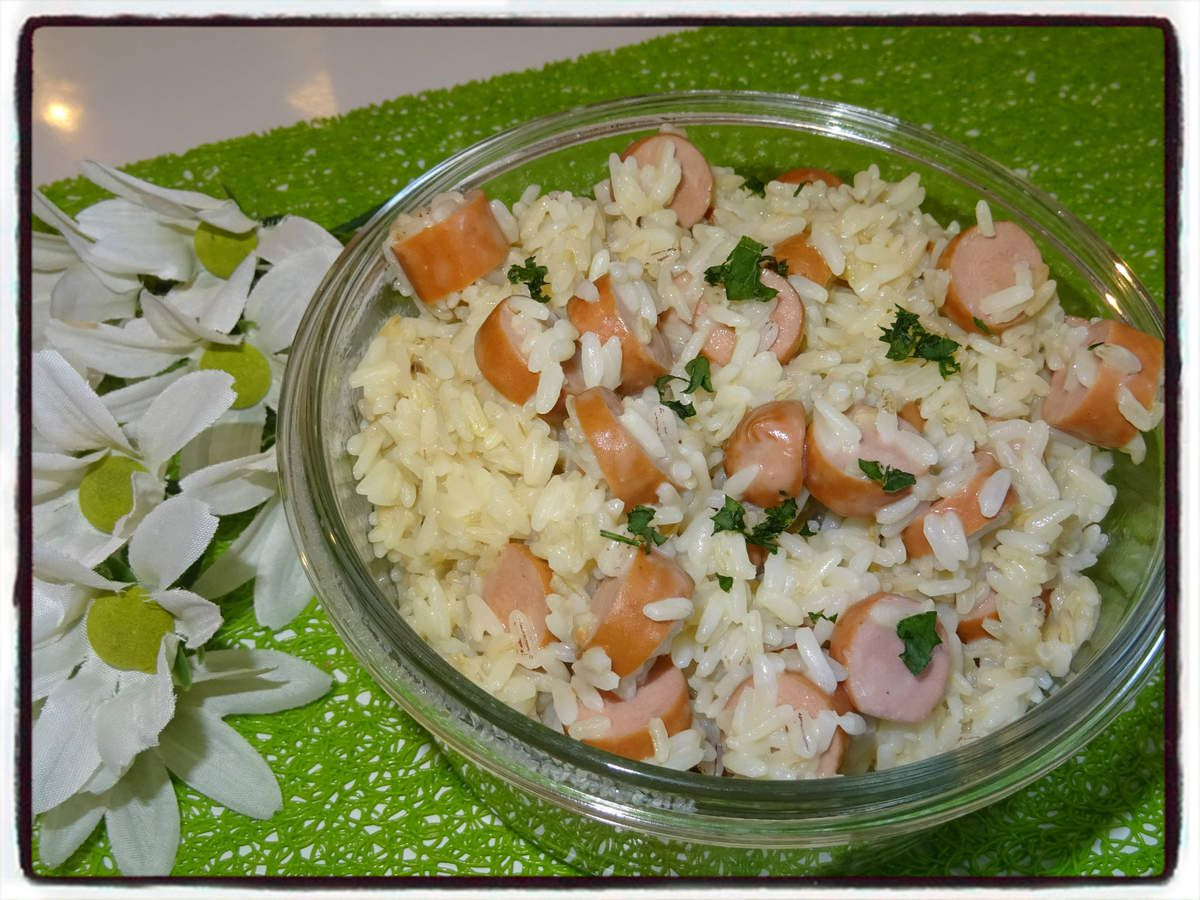 Risotto aux knackis