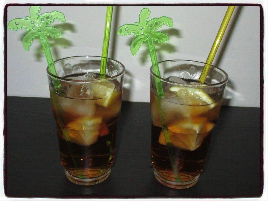 Cocktail téquila tea