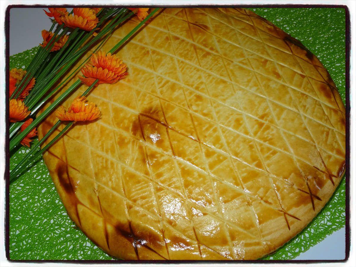Tarte au jambon et fromage fondu