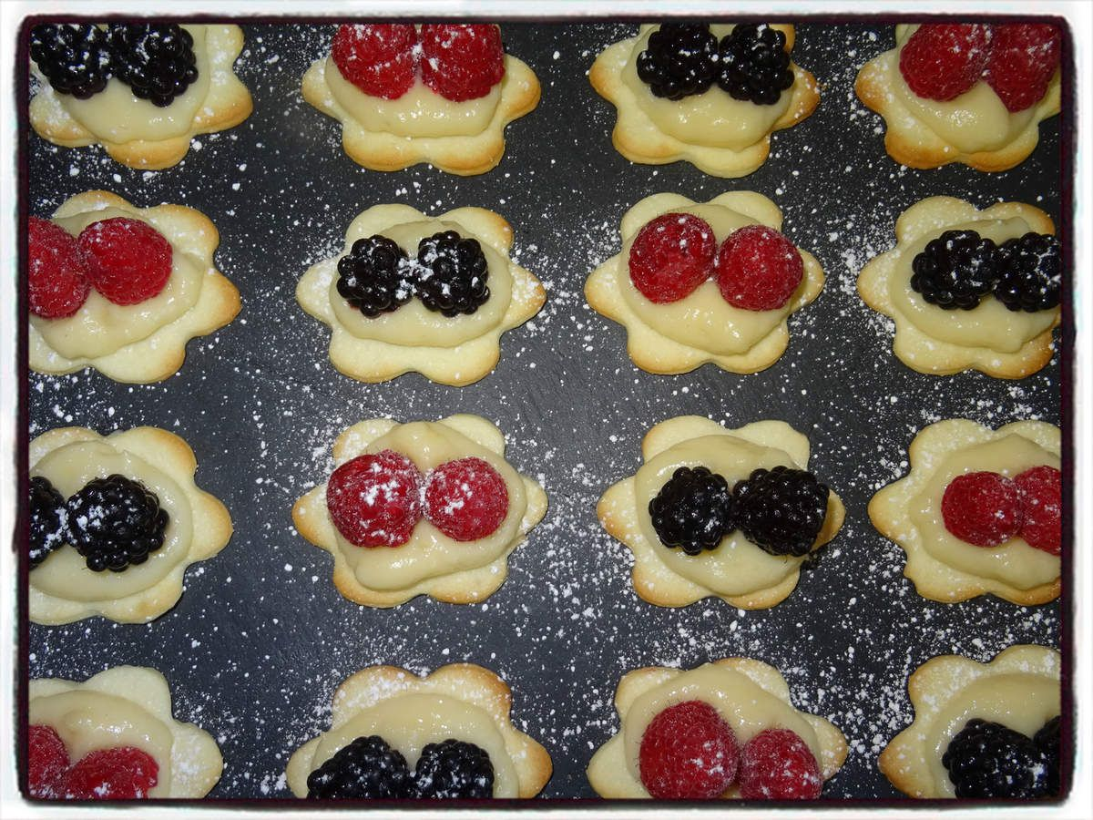 Minis tartelettes aux fruits rouges