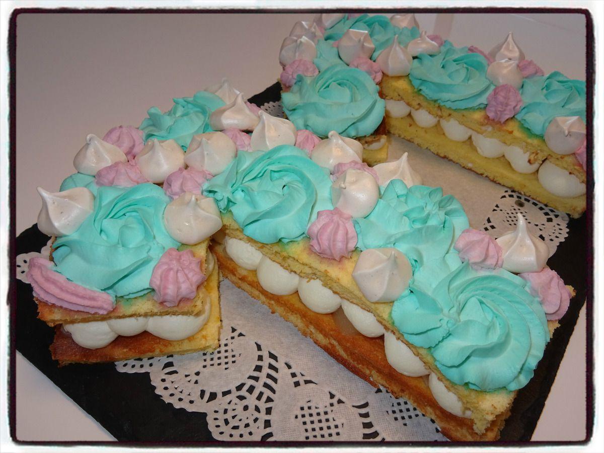 number cake à la poire