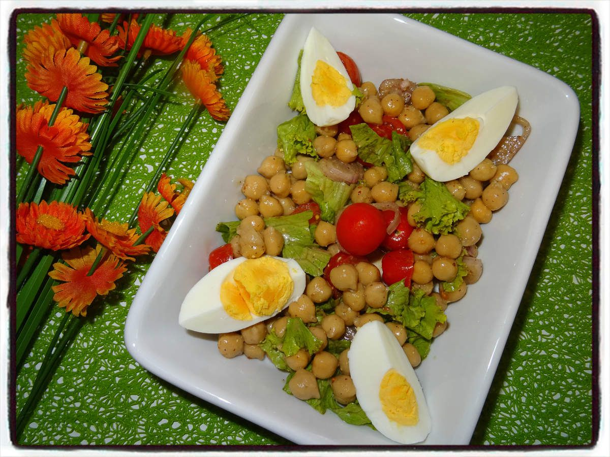Salade de pois chiches