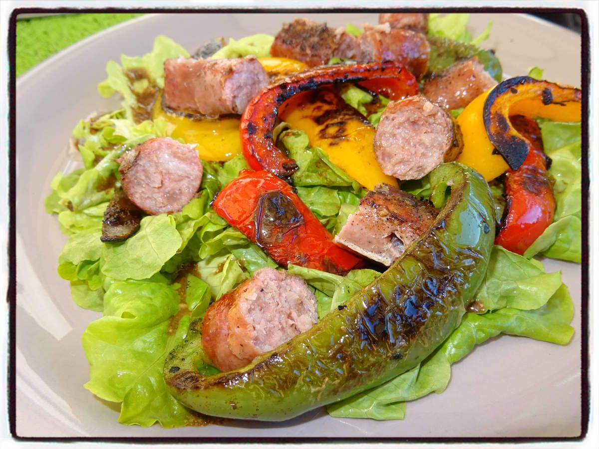 Salade barbecue