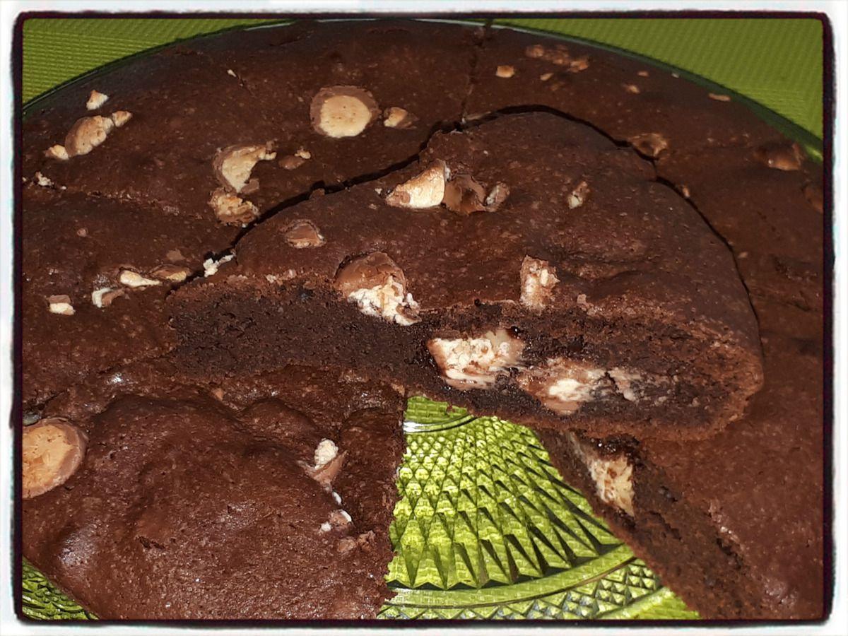 brownies aux schokobons