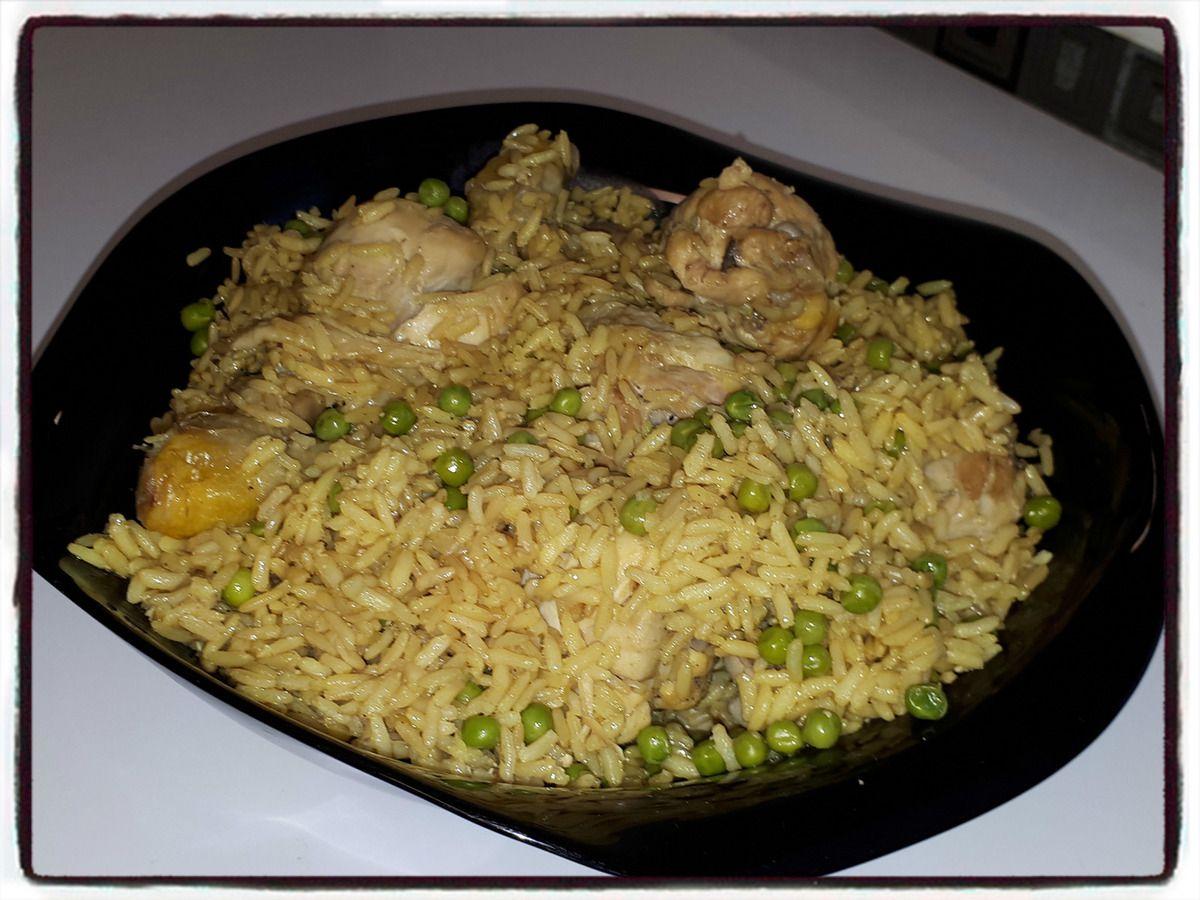 riz safran poulet