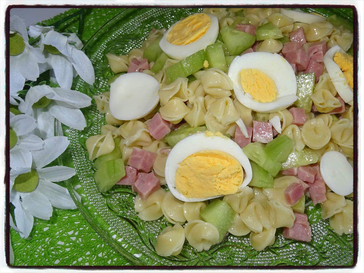 salade de pâtes au concombre