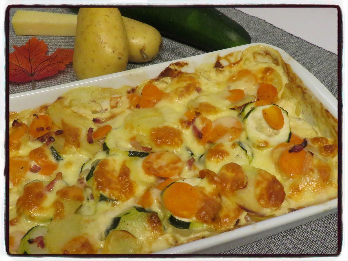 carotte courgette pommes de terre cantal