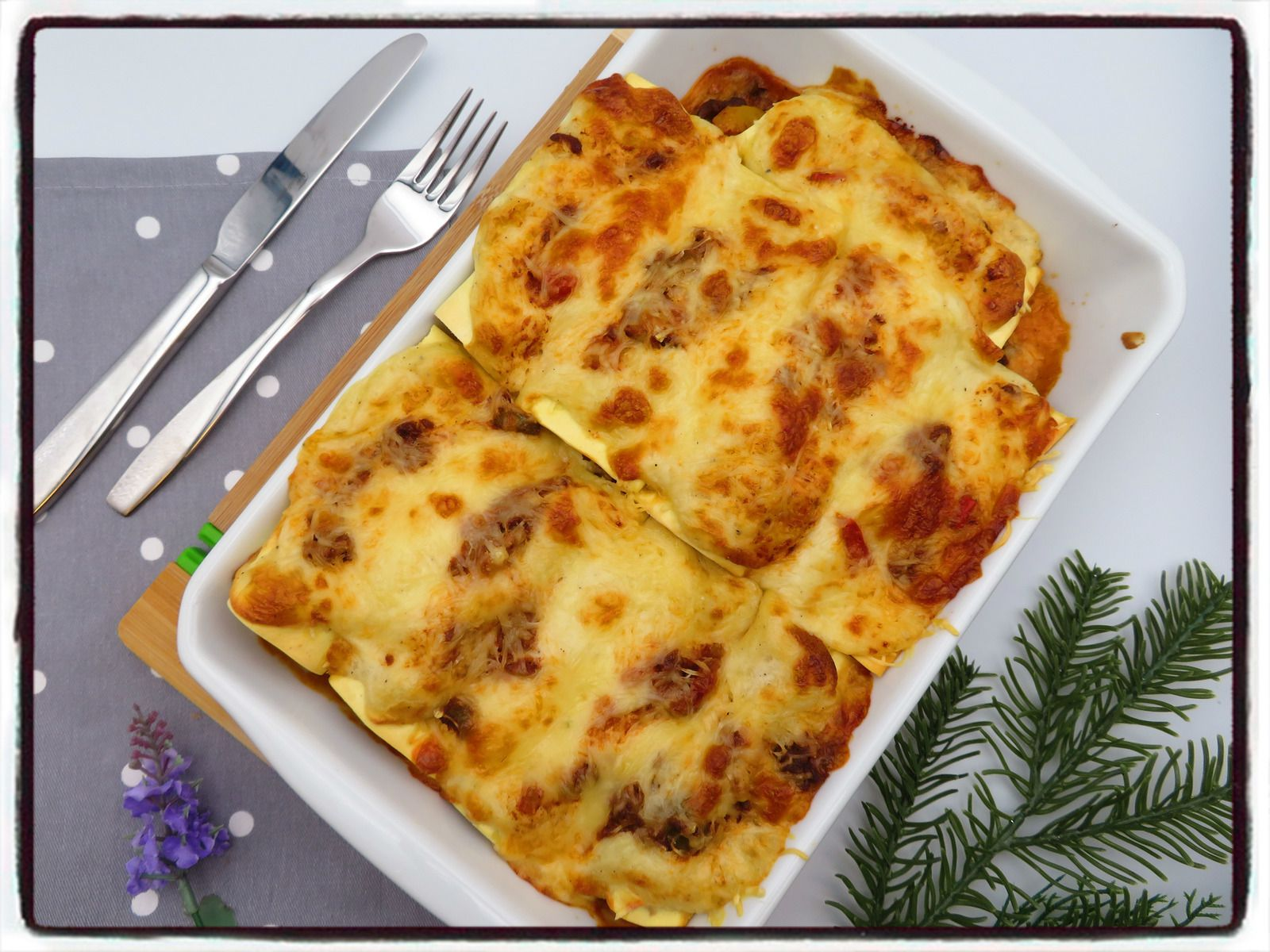 lasagnes poivrons