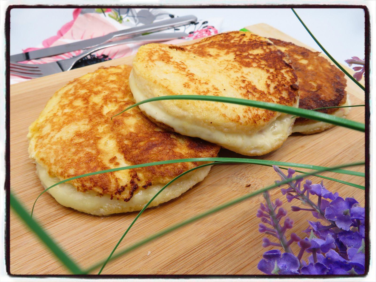 croque pain perdu jambon mozzarella