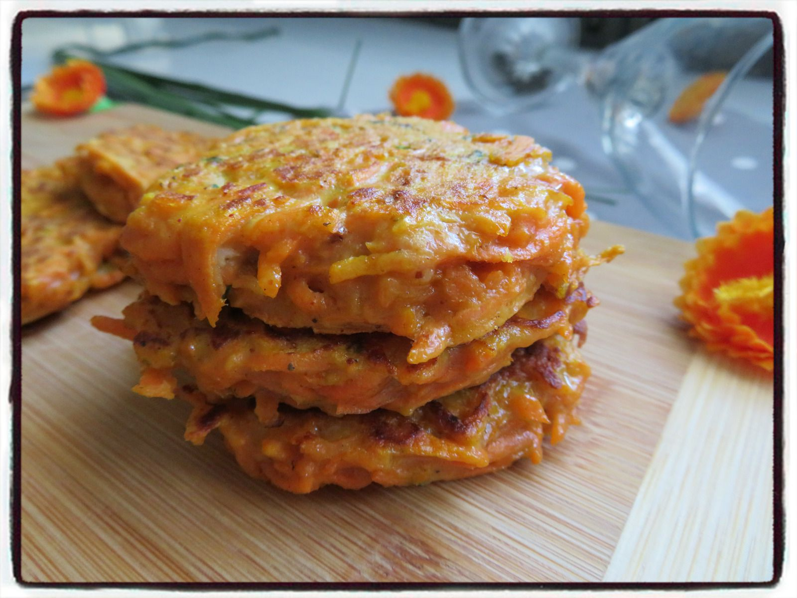 galettes carottes mexicaines