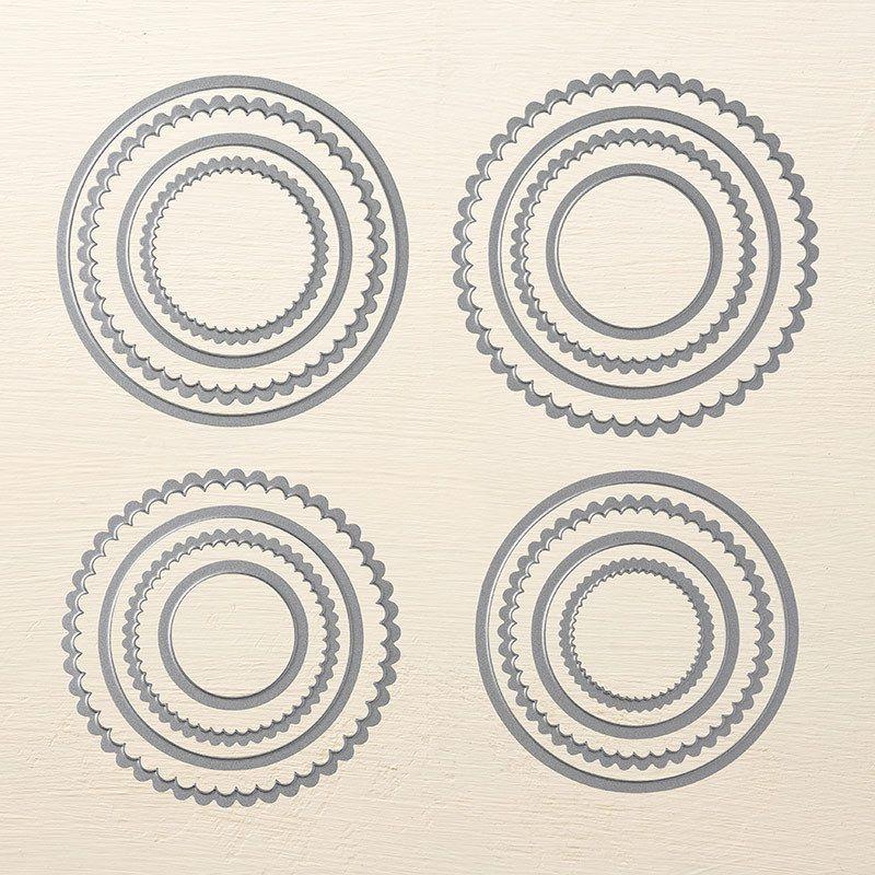 Pyramide de cercles