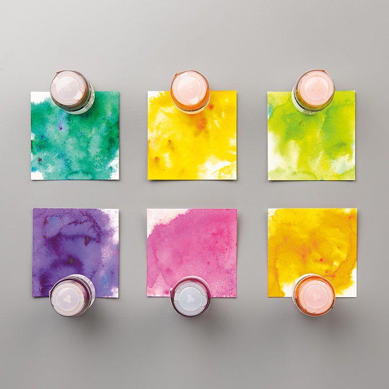 Cristaux aquarelle pigment sprinkles