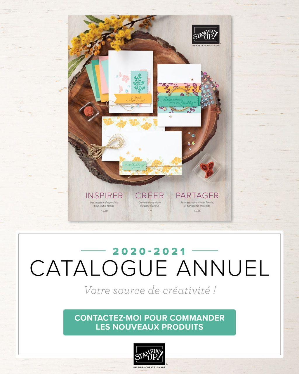 Catalogue annuel Stampin'Up! 2020/2021