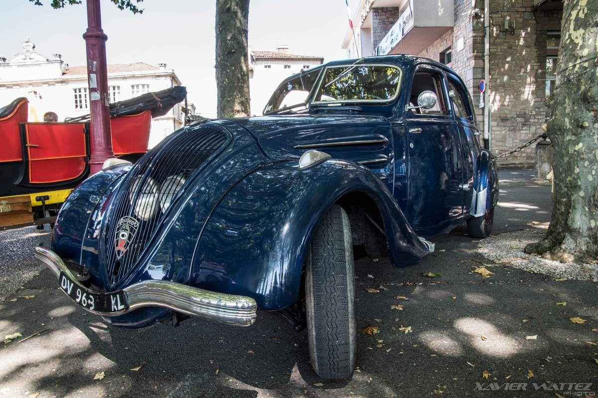 Autrefois le Couserans 2018 : l'exposition de voitures anciennes