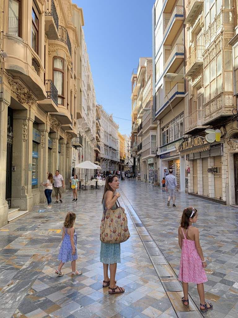 Pause bienvenue à Carthagène, sur la côte andalouse