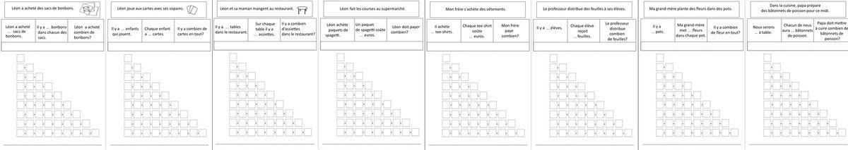 Maths - problèmes