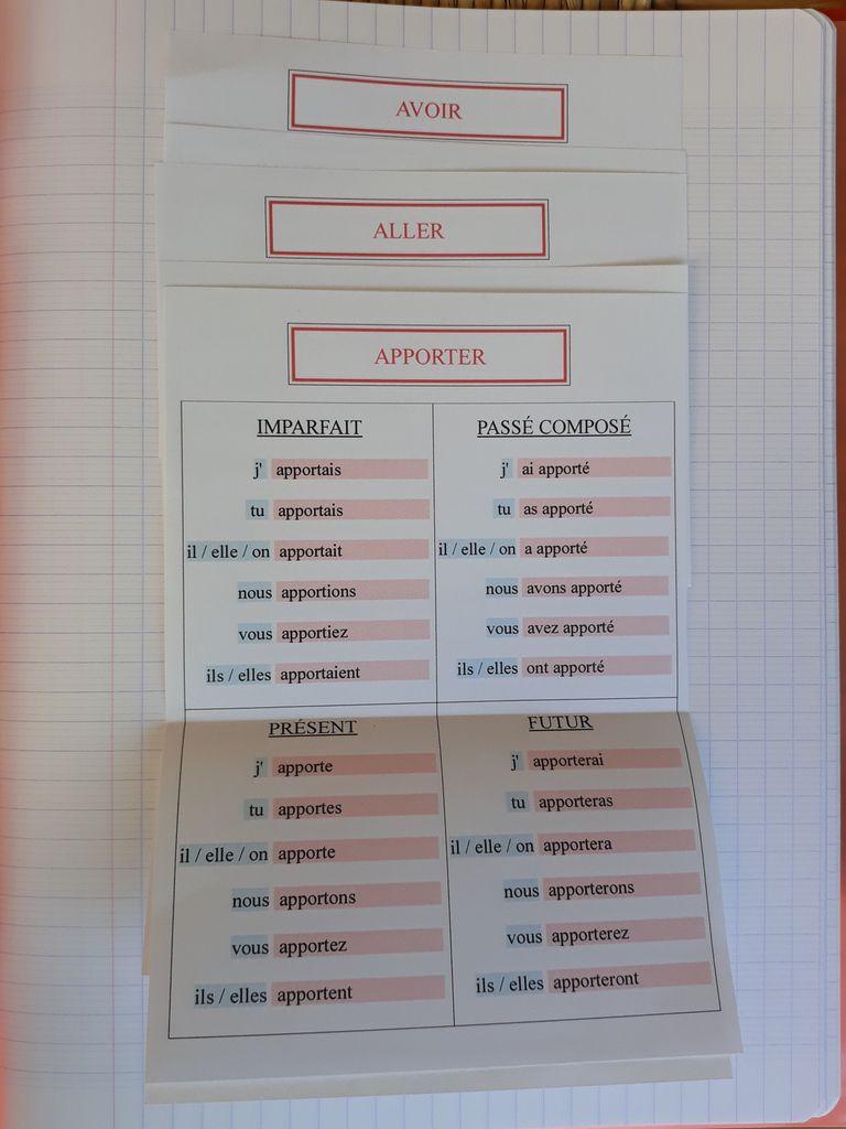 Cahier De Verbes Adaptations Pedagogiques Pour L Autisme