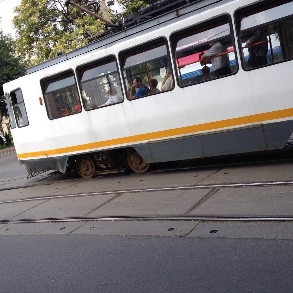 most commonly seen tram