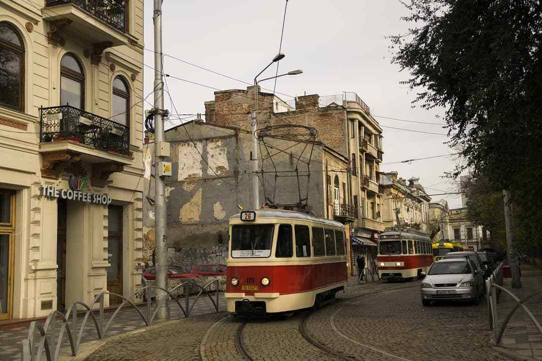 Very old tram by @transportcivilizatro on instagram