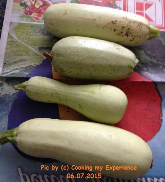 young and pretty zucchini