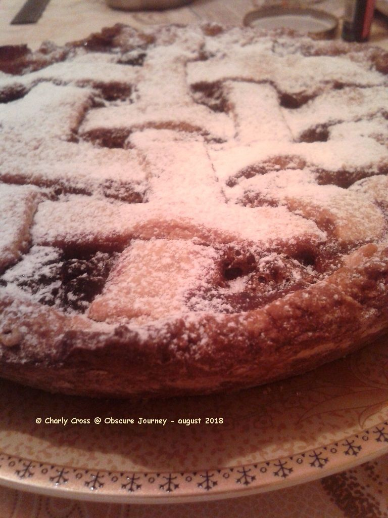 My Linzer torte recipe