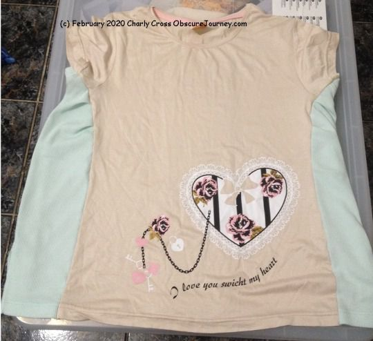 How To Enlarge a Tshirt - DIY, Upcycling, Color-blocking