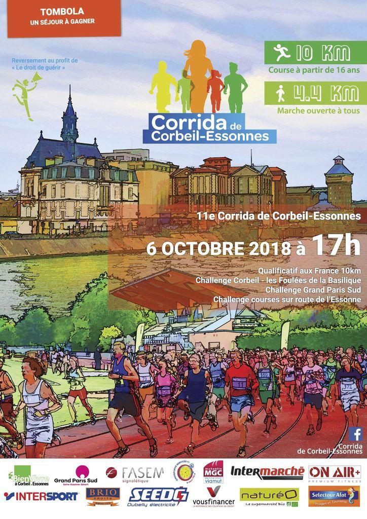 11ème Corrida de Corbeil-Essonnes
