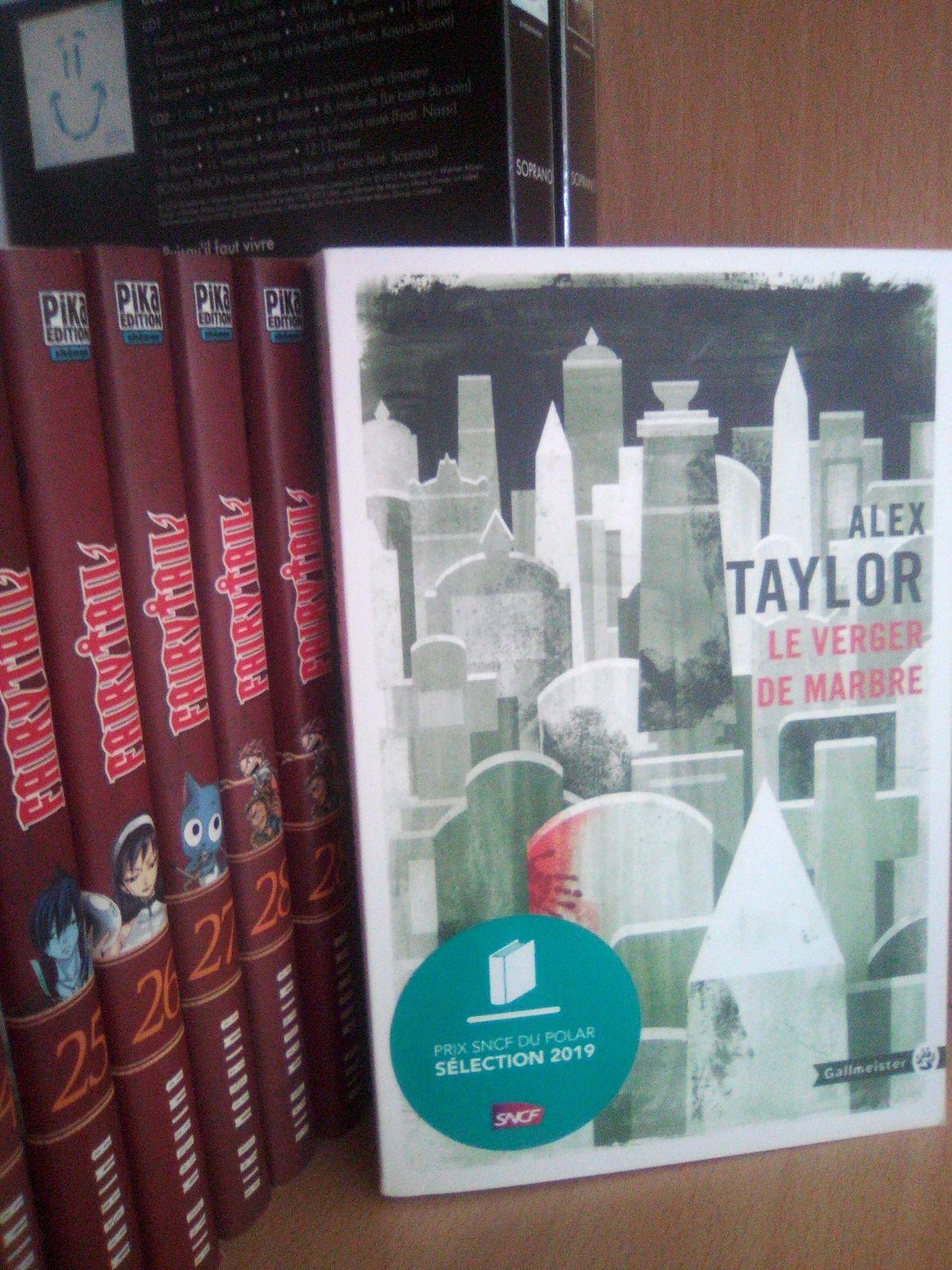AvisRomanNoir : le verger de marbre de Alex TAYLOR (Ed. Gallmeister)