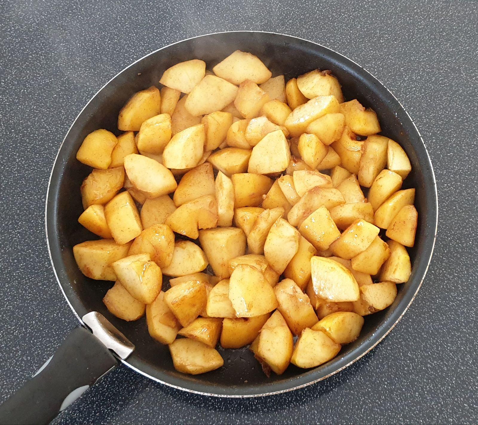Crumble aux pommes sans gluten