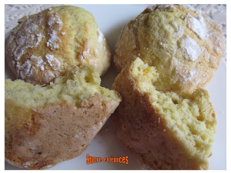 Lemon crinkles ou biscuits craquelés au citron
