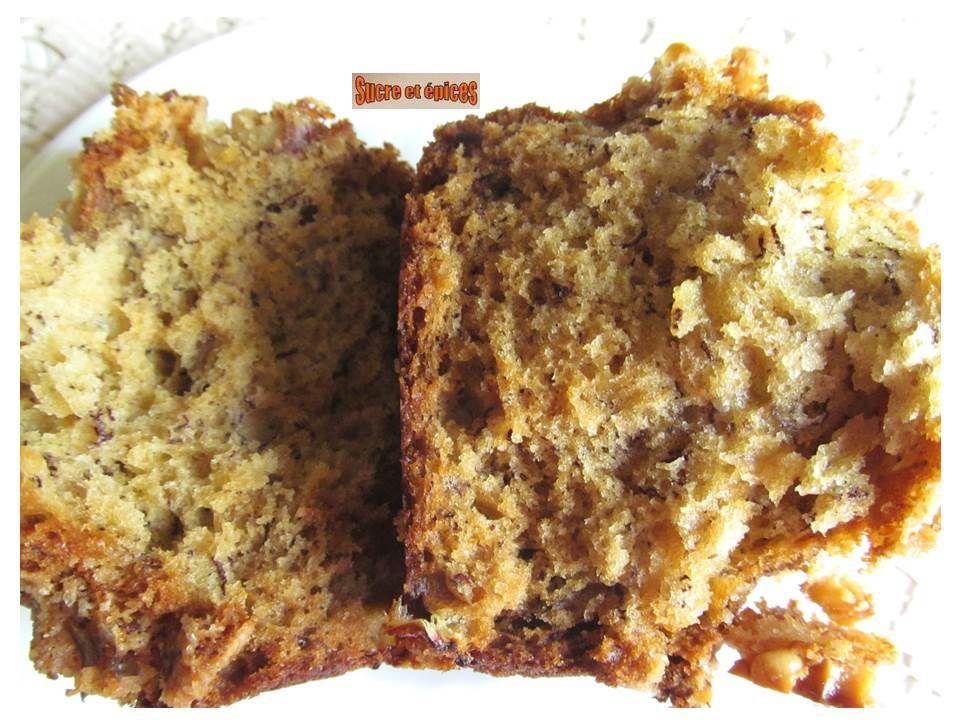 Muffins à la banane avec streusel aux noix