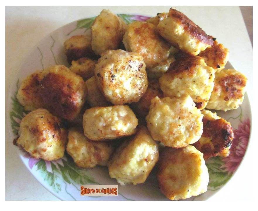 Boulettes de viande en sauce à la crème fraîche