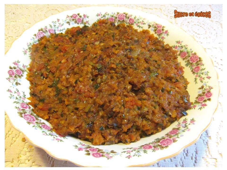 Tartinade de courgettes, carottes et tomates