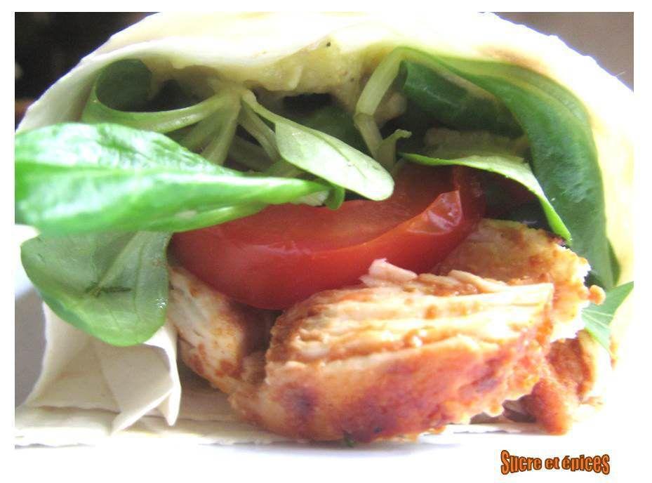 Kebab de poulet fait maison