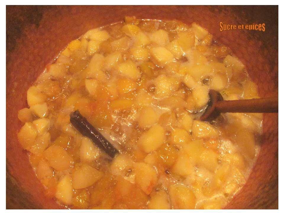 Marmelade pommes-coings