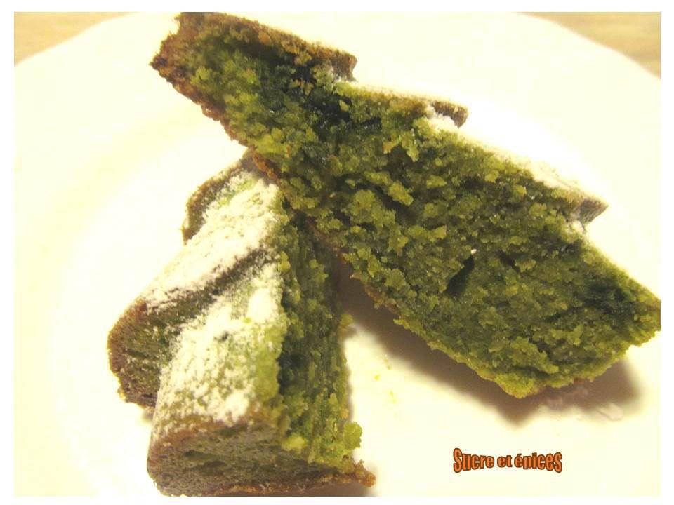 Sapins moelleux à la pâte de pistaches