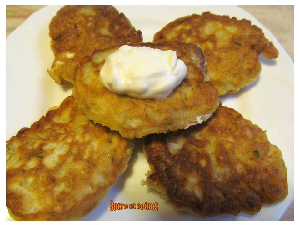 Pancakes au chou chinois (oladushki)