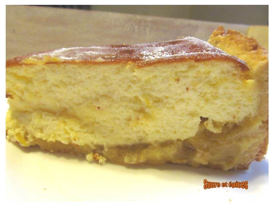 Tarte au fromage blanc intensément citron
