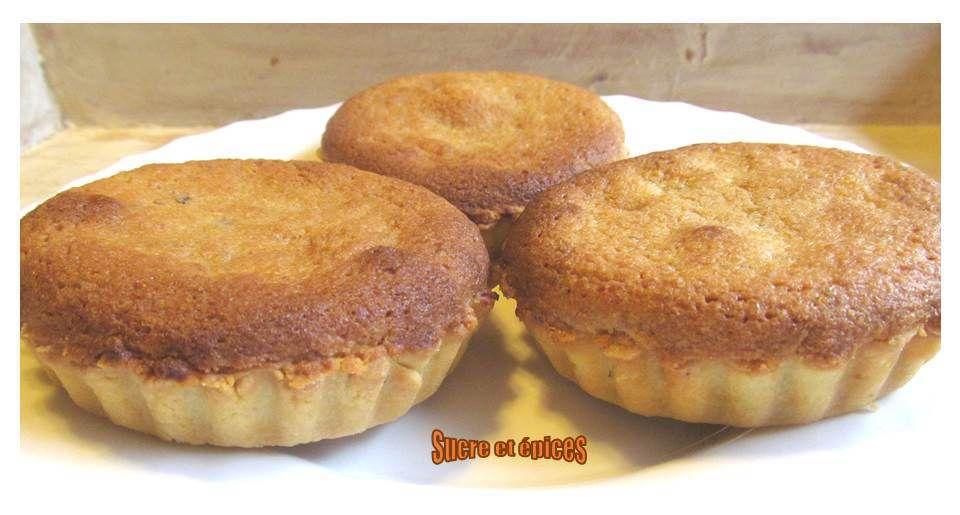 Tartelettes amandines à la crème de marrons
